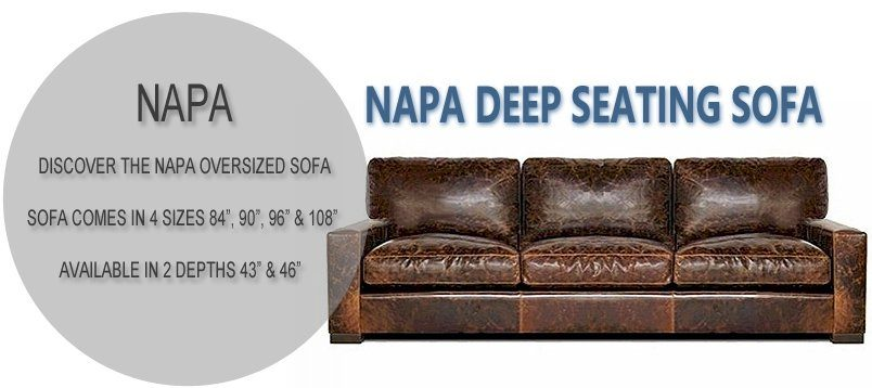Napa Oversized Seating Sofa